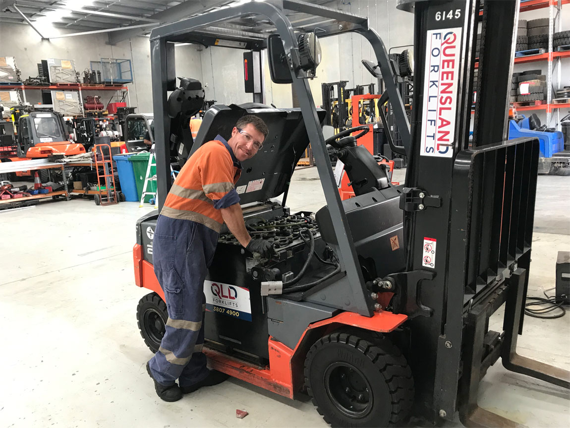 Forklift Service & Repair in Queensland