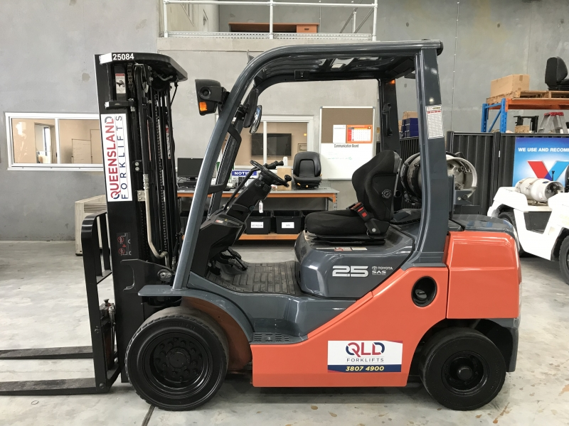 Used TOYOTA 42-7FG25, LPG Powered | Queensland Forklifts